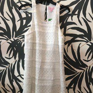 NWT Lilly Pulitzer white dress size 8